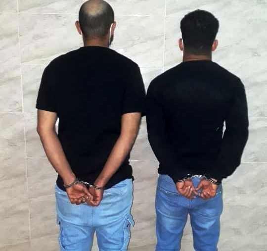 گرفتاری سارقان مسلح آبژدان در چنگال قانون