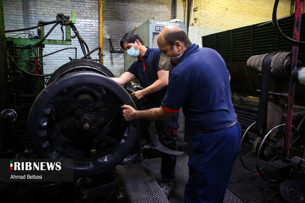 تصاویری از صنعت تولید تایر ایرانی