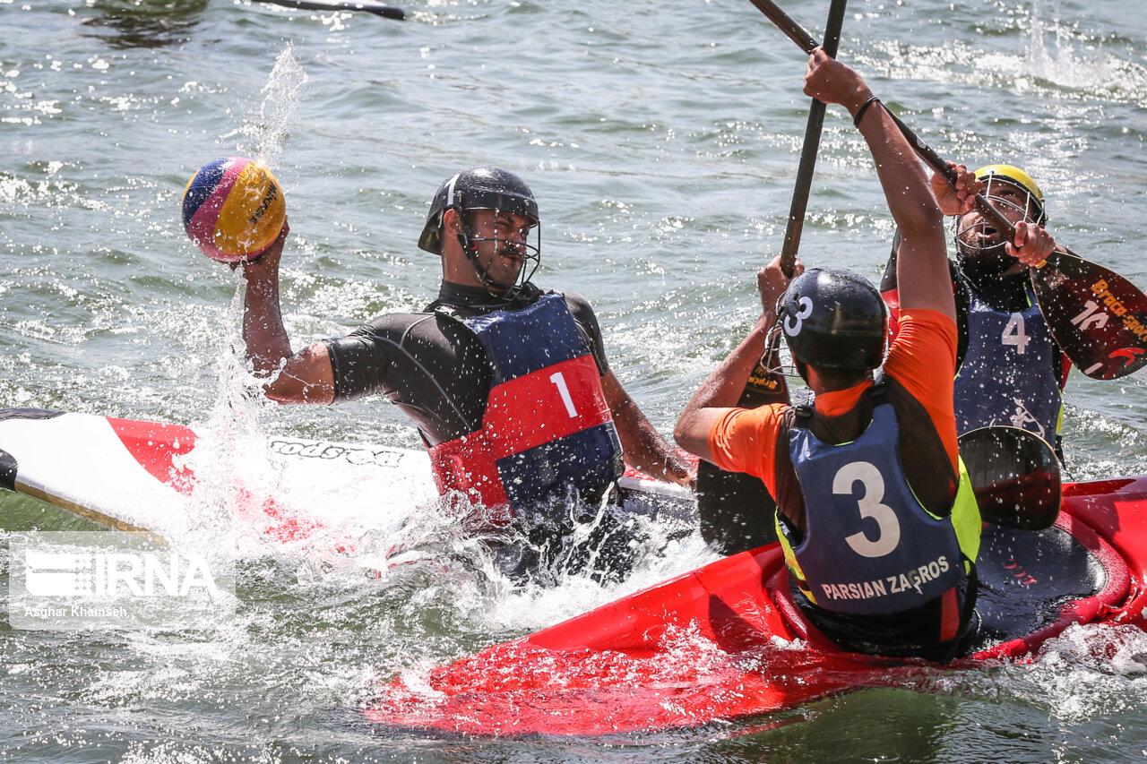 تصاویری جذاب از مسابقات کانوپولوی مردان قهرمانی کشور