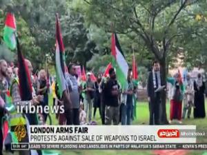 تظاهرات ضد صهیونیستی در لندن