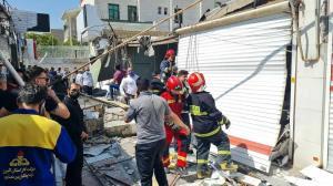 انفجار در بازارچه نظرآباد سبب آسیب به ۱۳ مغازه شد