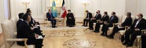 رئیسی در دیدار رئیس جمهور قزاقستان: به دنبال مذاکرات نتیجه بخش هستیم