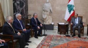 گفتوگوی فرستاده پوتین به سوریه با مشاور میشل عون