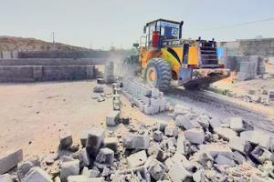 رفع تصرف ۶۷ هزار و ۵۰۳ متر مربع از اراضی ملی در جنوب کرمان