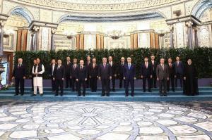 عکس یادگاری رئیسی و سران سازمان همکاری شانگهای