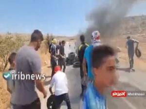 درگیری میان فلسطینیان و رژیم صهیونیستی در کرانه باختری
