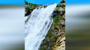 یکی از زیباترین و مرتفعترین آبشارهای ایران