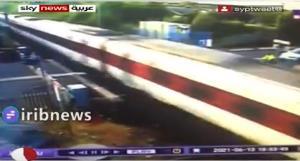 تصادف خودرو با قطار