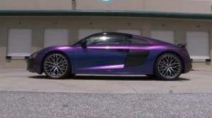 خودروی عجیبی که توانایی تغییر رنگ دارد