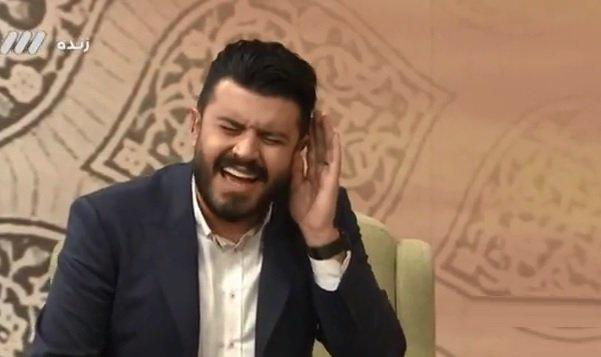 اجراي آهنگ سالار عقيلي توسط مجري شبکه ۳