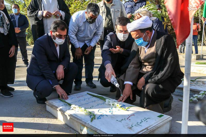 سفر رئیس جدید سازمان بنیاد شهید به مشهد