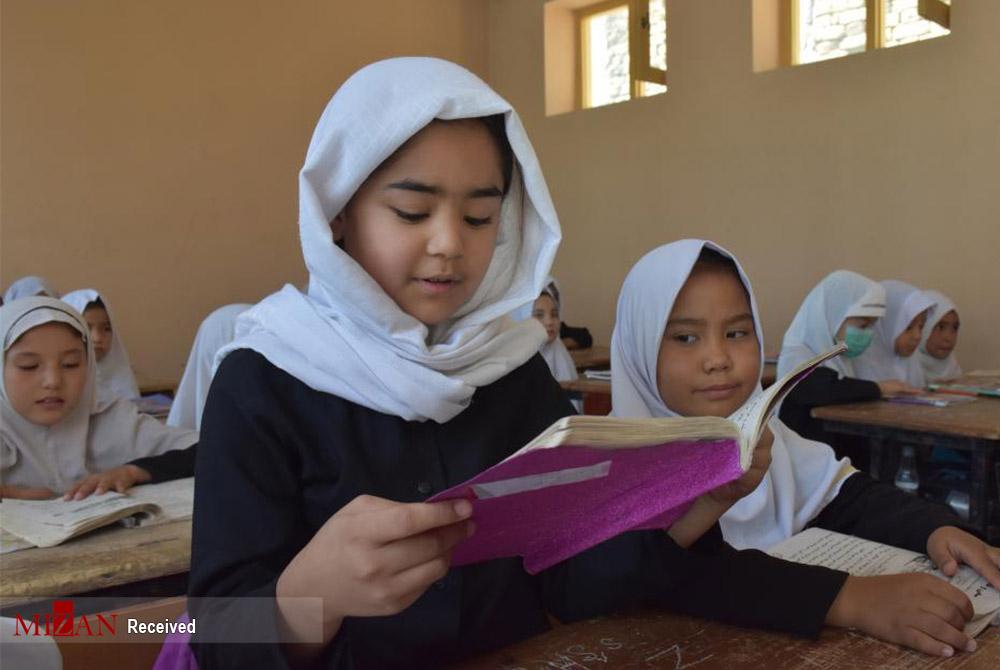 دختران افغان در کلاس درس