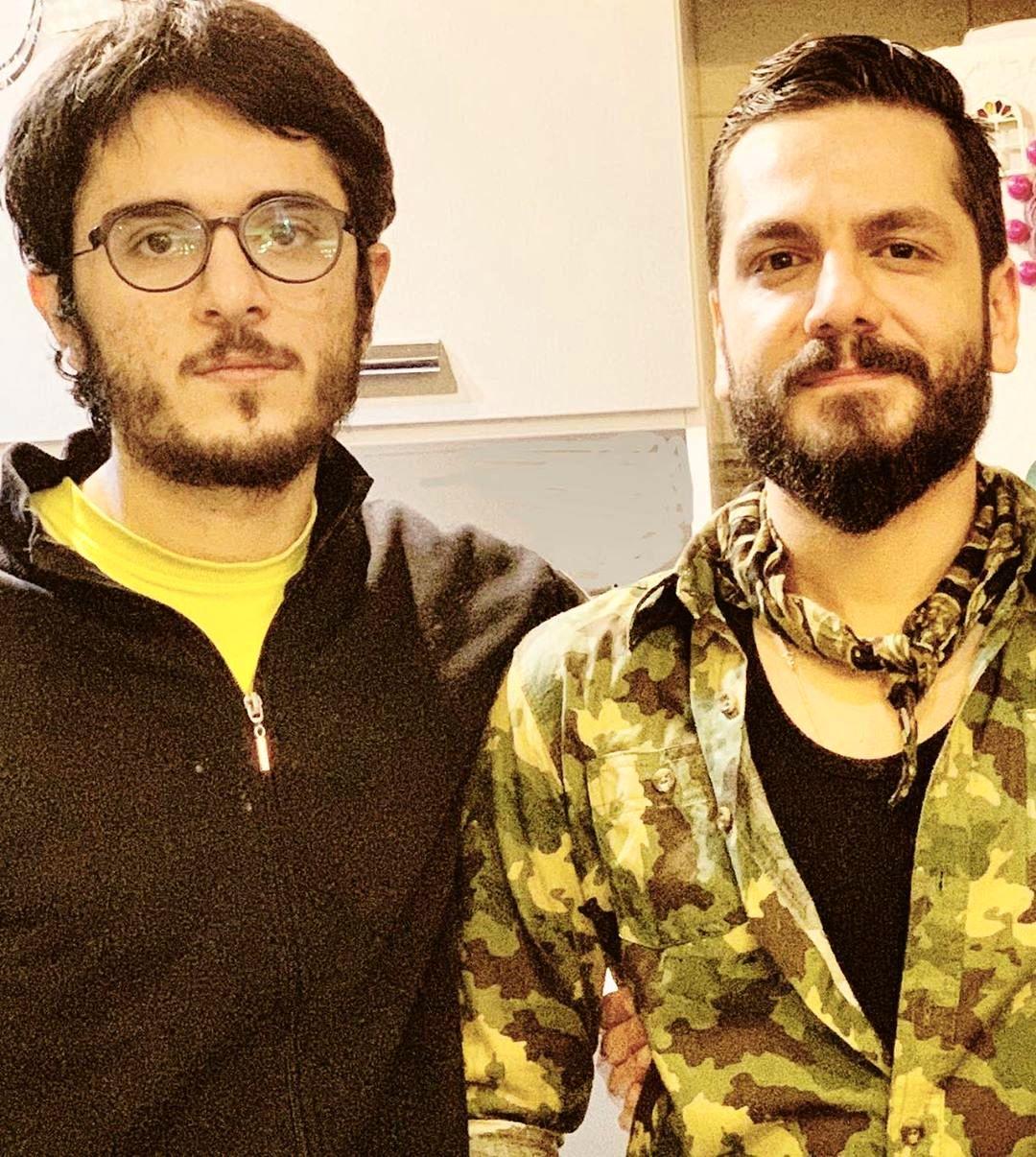 چهره ها/ تبریک تولد عباس غزالی برای برادرش