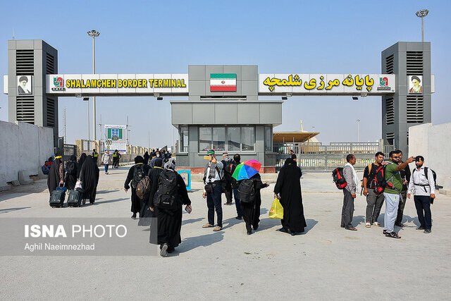 فرماندار ویژه خرمشهر: به زائران اجازه تردد از مرز شلمچه داده نمیشود