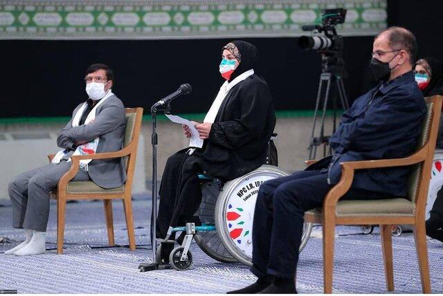 هاشمیه متقیان در حضور رهبر معظم انقلاب چه گفت؟