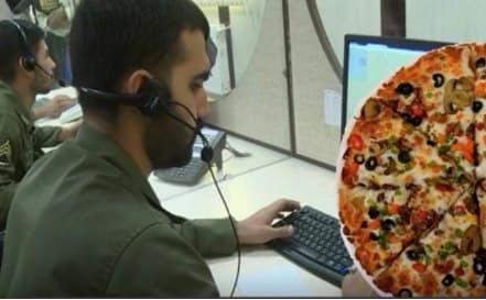 درخواست کمک بانويي از پليس با سفارش پيتزا