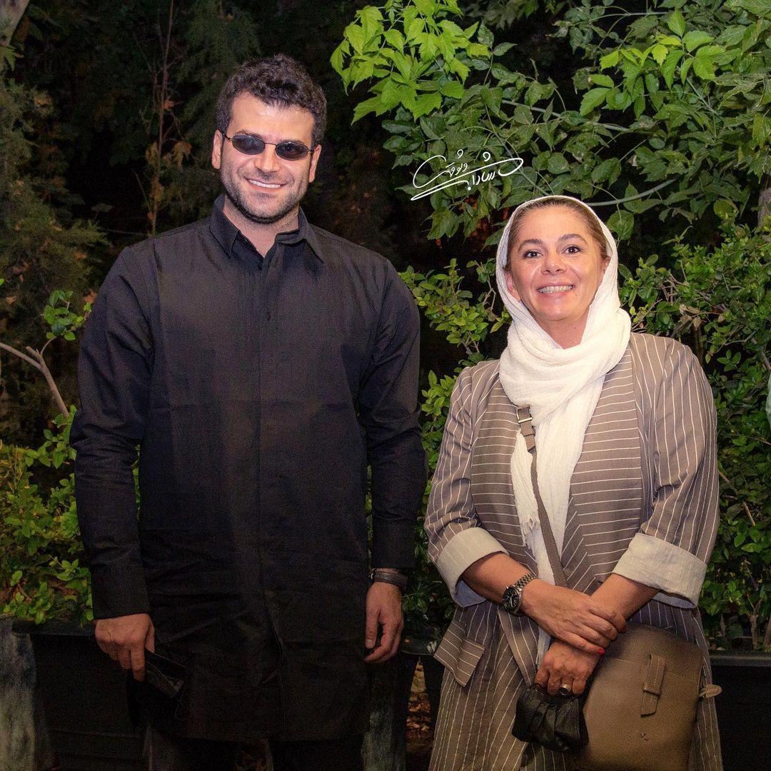چهرهها/ مستانه مهاجر و روزبه حصاری در موزه سینما
