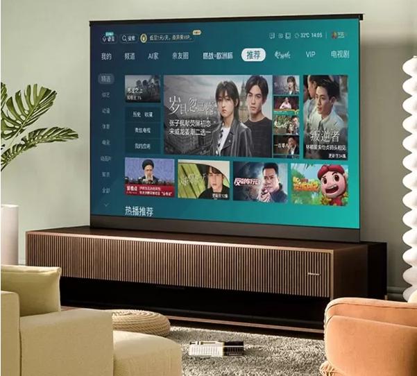 نخستین تلویزیون لیزری رول شدنی در جهان رونمایی شد
