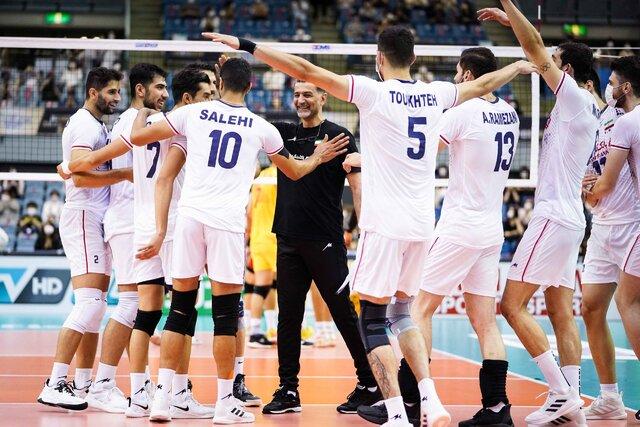واکنش کنفدراسیون والیبال آسیا به فینالیست شدن ایران