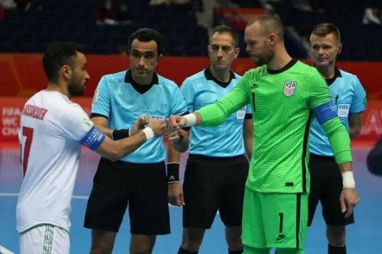 ثبت حدود نیمی از کارتهای قرمز جام جهانی فوتسال به نام ایران