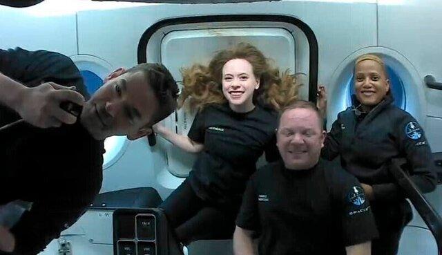 مسافران فضايي