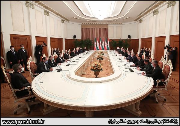 هدف گذاری ایران و تاجیکستان برای تجارت ۵۰۰ میلیون دلاری