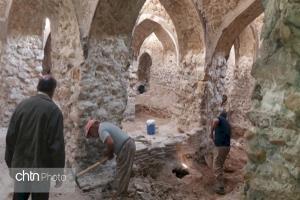 مرمت حمام تاریخی در کازرون