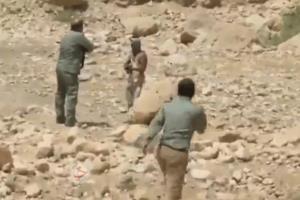 لحظه درگیری مسلحانه محیطبانان با شکارچی غیرمجاز