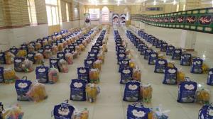 توزیع ۳۰۰ سبد غذایی در بین نیازمندان شهرستان چرداول