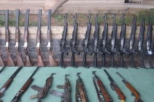 کشف ۶۱ قبضه سلاح غیرمجاز در اجرای طرح موفقیتآمیز پلیس در ایلام