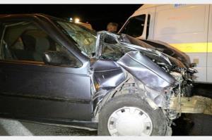 سوانح رانندگی در اصفهان ۱۴ مصدوم برجا گذاشت