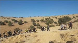 صعود کوهنوردان درهشهری به ارتفاعات کبیر کوه