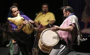 موسیقی محلی بندری و خیام خوانی شاد و زیبا