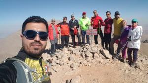 عکس/ صعود کوهنوردان خوزستانی به قلههای مرتفع ایران