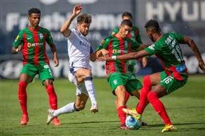 لیگ پرتغال/ خوششانسی یاران علیپور در گرفتن امتیاز