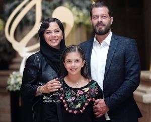 چهره ها/ عکسی تازه از همسر و دختر پژمان بازغی
