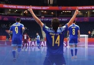 جام جهانی فوتسال/ صعود قزاقستان و روسیه به عنوان صدرنشین