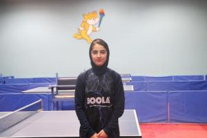 نابغه تنیس همدان به مسابقات آسیایی اعزام شد