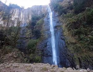 گیلان شهرستان تالش آبشار لوشکی