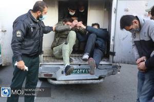 دستگیری ۲ سارق با ۸ فقره سرقت در میناب
