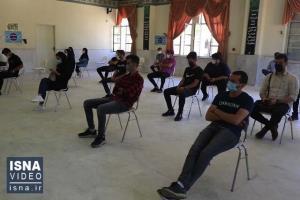 دانشجویان زنجانی هم واکسینه شدند
