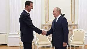 سفر از پیش اعلام نشده اسد به مسکو