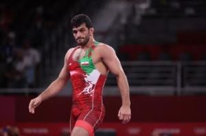حسن یزدانی کاپیتان تیم کشتی ایران در رقابتهای جهانی