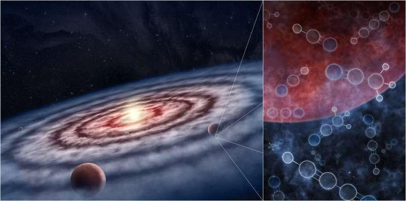 کشف مولکولهاي حيات در اطراف پيشسيارهها: تکه جديدي از پازل «حيات» پيدا شد