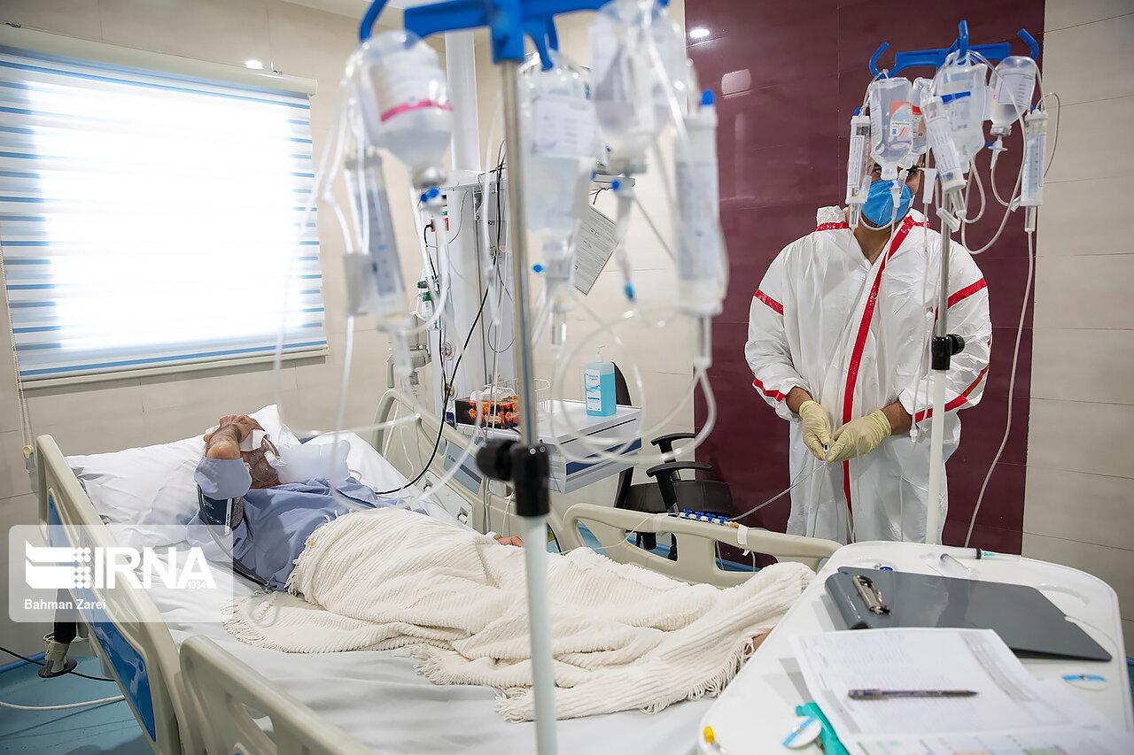 تعداد بیماران بستری کرونایی گلستان ۷۵ درصد کمتر شد
