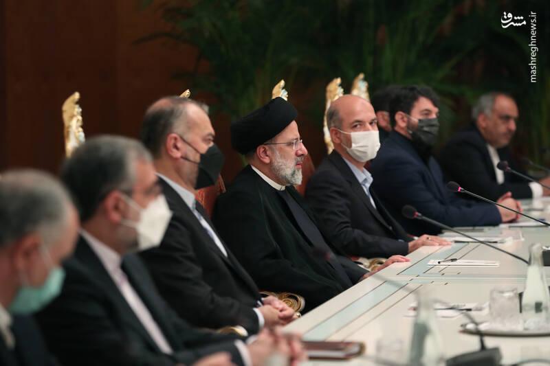عکس/ نشست مشترک هیئتهای عالیرتبه ایران و تاجیکستان