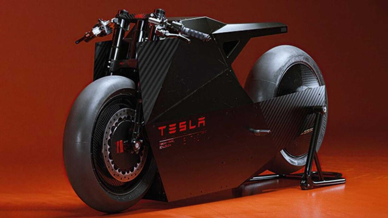 اگر تسلا موتورسیکلت بسازد چگونه خواهد بود؟