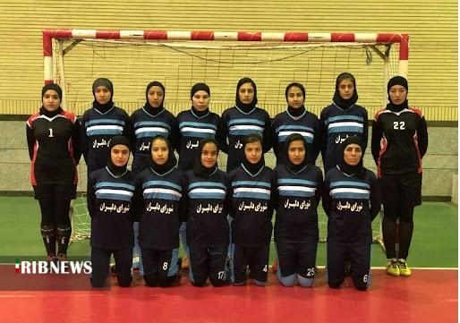 حضور نماینده کردستان در رقابتهای فوتسال بانوان کشور