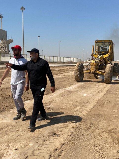 ساخت اولین پیست اتومبیلرانی آفرود در خوزستان