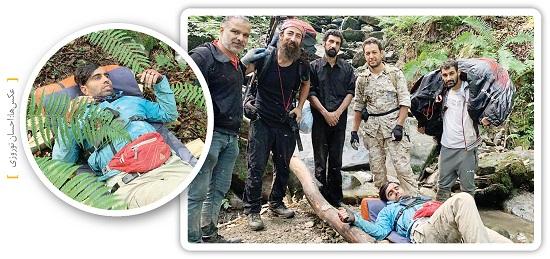 جدال خلبان پاراگلایدر با مرگ در سوادکوه